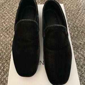 VINCE black smart loafers
